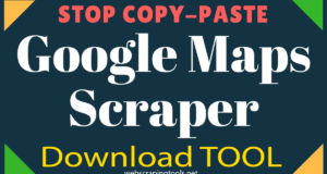 Google Map Scrapers Archives - Web scraping Tools